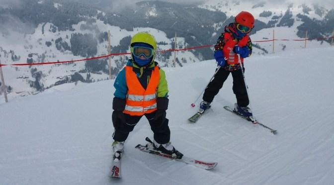 Lyžování v Alpách s malými dětmi