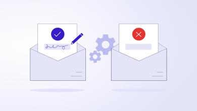 صورة لماذا يجب الحرص قبل استخدام ميزة التفويض عبر البريد الالكتروني؟