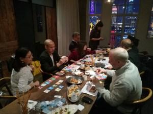 Mar 16 2017, Peggy Liu, Dana Leong, Hason Cheah, Leslie Maasdorp and Cherie Nursalim at Mercato Shanghai