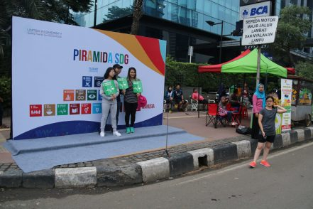 SDG Pyramid background goes viral