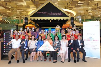 SDG Pyramid to Happiness @Discover Indonesia Exhibition, T3 Changi Airport, Singapore