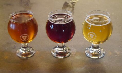 Left to right (Honey, Amber, Saison).