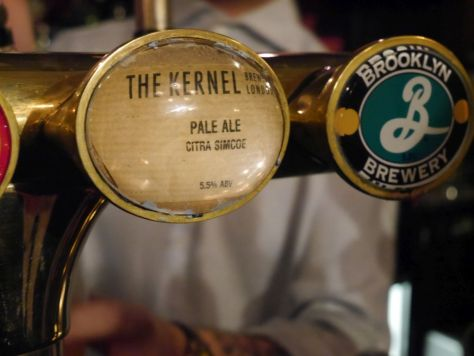 Kernel Pale Ale spotted in the wild, delicious beer.