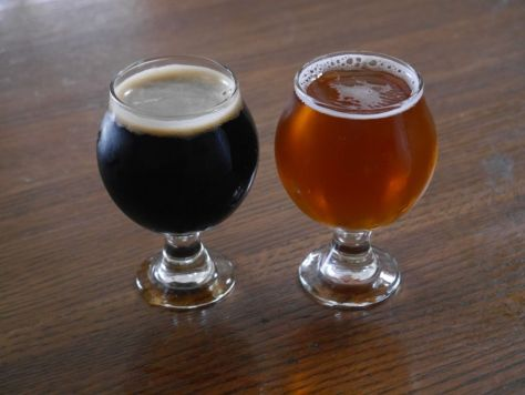 The two specialty beer tasters.