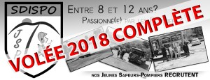 Inscriptions JSP – Volée 2018 [Complet]