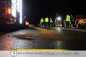 ACCIDENT – AUTOROUTE A1 LA SARRAZ – COSSONAY