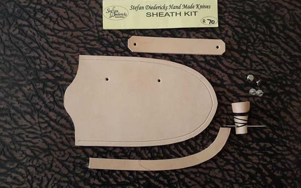 stefan diedericks knife sheath making kit and tutorial