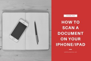 How to scan a document on your iPhone or iPad