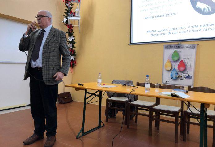 Risorgimento e unità d'Italia presentato romanzo storico alla Pro Loco di Tornaco