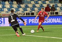 Novara sconfitto 2 a 1 a Chiavari contro l'Entella: è crisi