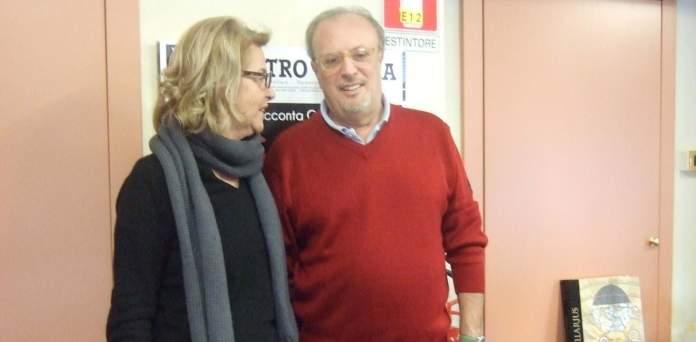 Fossati e Rapetti direttore del Coccia durante l'intervista