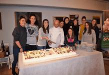 La compagine di B2 con sponsor, dirigenza e Nino Pavic Romagnano Palzola Volley