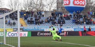 Novara vittoria contro il Carpi per 1 a 0