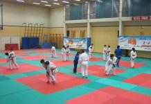 judo-un momento degli allenamenti: Varallo città del Judo