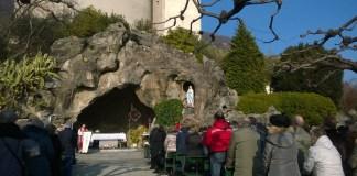 Cannero grotta Lourdes giornata del malato