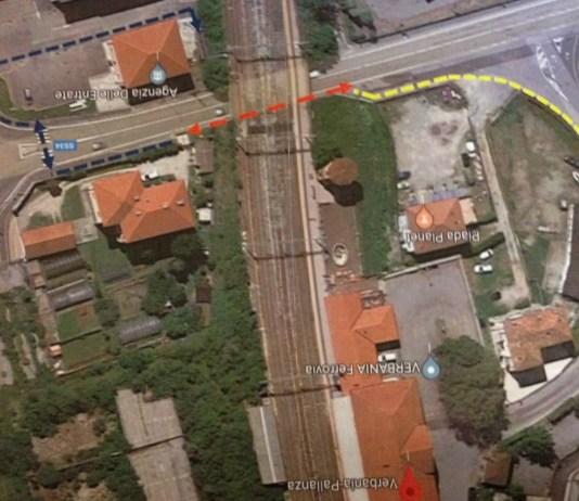 mappa percorso pendolari