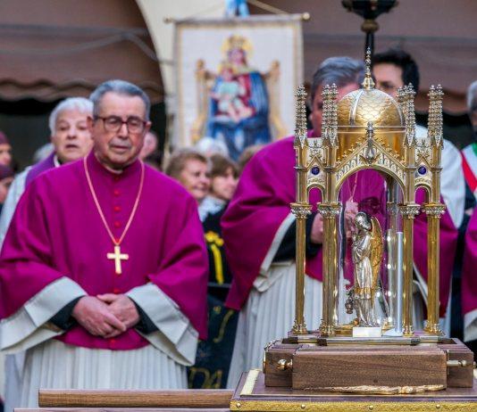 Reliquia di Re a Novara
