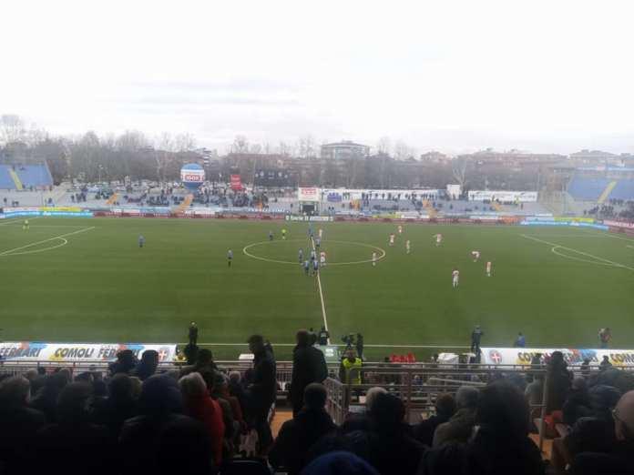 Novara-Palermo 2 a 2