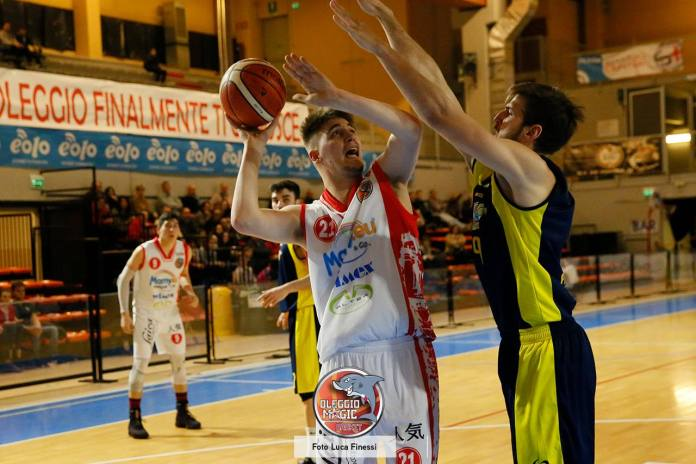 Oleggio Magic Basket sconfitto a Cecina
