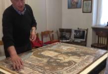 presentato un mosaico della Madonna di Re