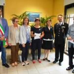 SOROPTIMIST VALSESIA: INAUGURAZIONE STANZA PROTETTA IN CASERMA A BORGOSESIA