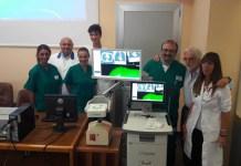 Ospedale di Novara, nuovo sistema di navigazione elettromagnetica bronchiale endoscopica