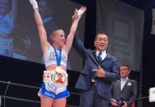 Jleana Valentino conquista il titolo Mondiale di ShootBoxing