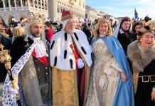 Carnevale Novarese a Venezia con Re Biscottino e Regina Cuneta