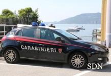 vettura dei carabinieri di verbania