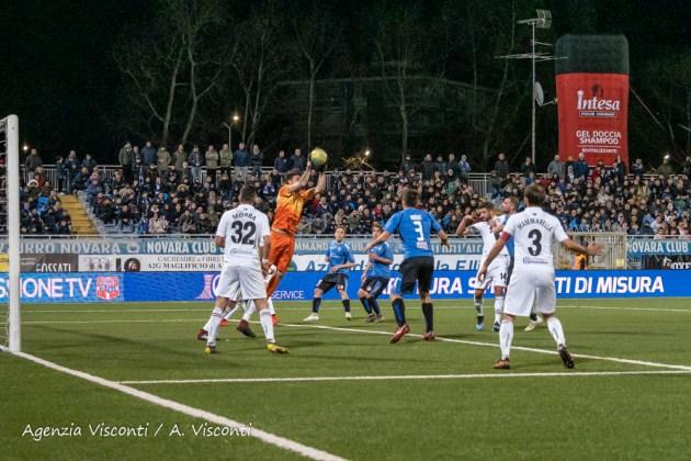 Immagini del derby tra Novara e Pro Vercelli 2-1