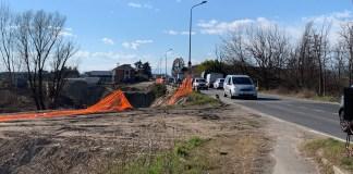 Passerella sull'Agogna nella zona del cavalcavia San Martino, il cantiere ha preso il via