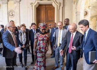 Visita del Ministro del Congo all'ospedale di Novara