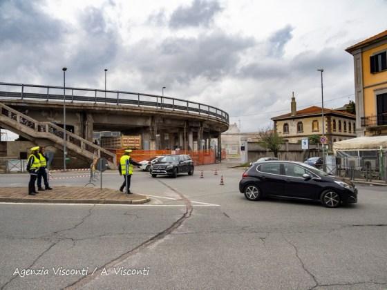 Cavalcavia Porta Milano chiuso