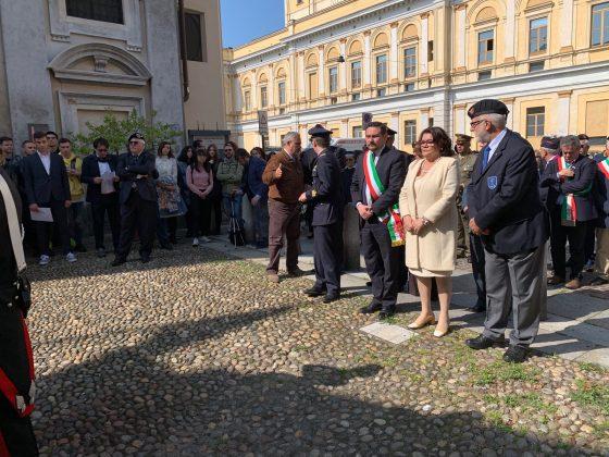Cerimonia Nastro Azzurro a Novara