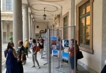 Mostra #Novara Social nel quadriportico di Palazzo Natta