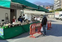 mercato settimanale di Omegna