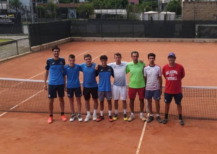 La squadra del Tennis Verbania che milita in Serie C