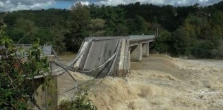 Crollo ponte Romagnano