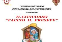 Romagnano, concorso Faccio il presepe