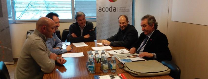 Victor Naudi, Jaume Bartumeu i ACODA