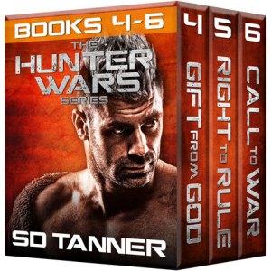 Hunter Wars Books 4-6 Cover