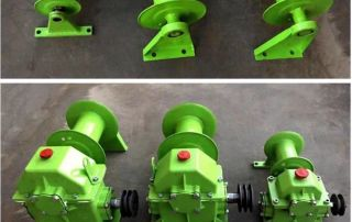 Grain lifting machine, feeder, variable speed worm gear reducer, vertical gearbox, small household gearbox with reel