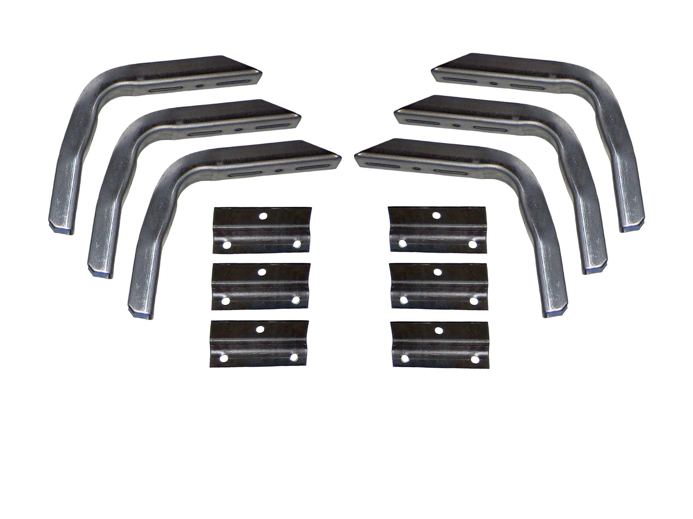 Cargo Bed Golf Cart Brackets