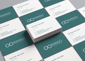 Kanso Business Cards