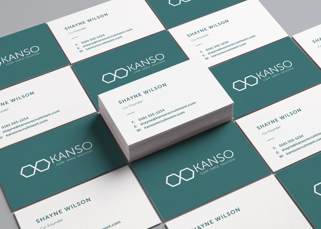 Kanso Brand Development Business Cards