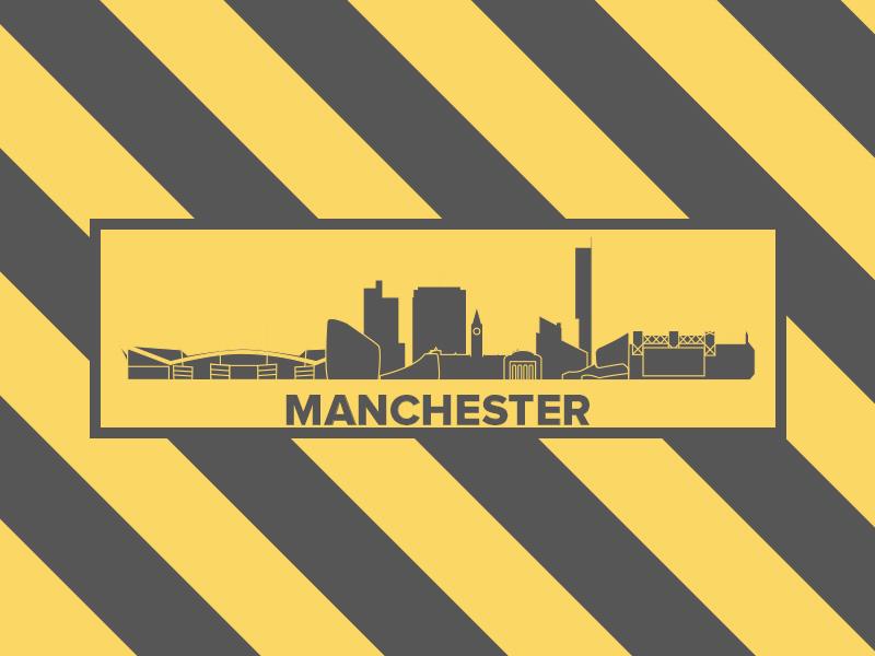 Manchester Skyline Logo