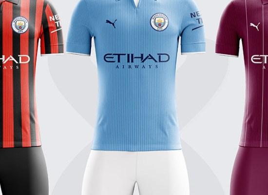 Manchester City Kits 2019/20