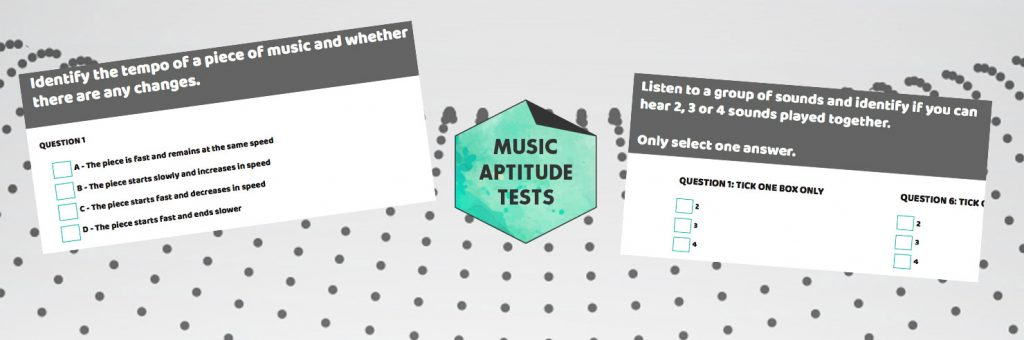 Haberdashers Askes Music Aptitude Test 2018