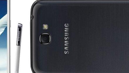 مسرب: صورة لجهاز Galaxy Note 2 باللون الأسود