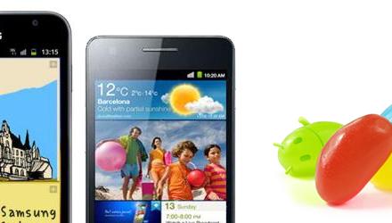تحديث JellyBean يصل رسميًا لـ Galaxy SII و Note في يناير
